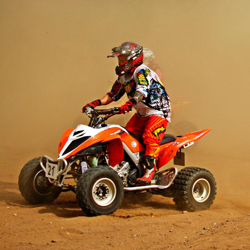 seguro deportivo quad