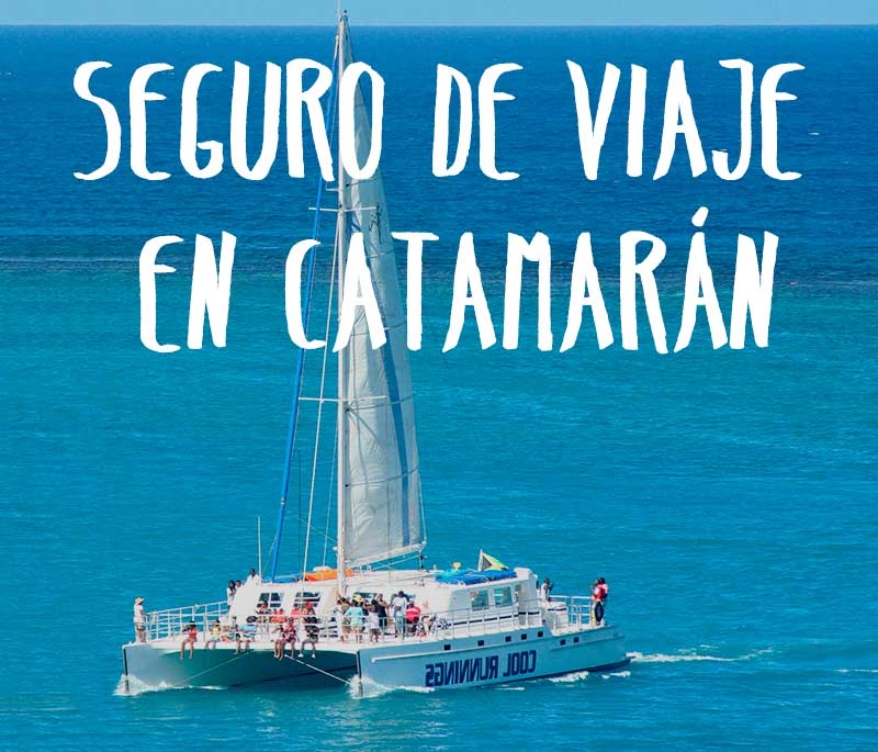 seguro de viaje en catamarán