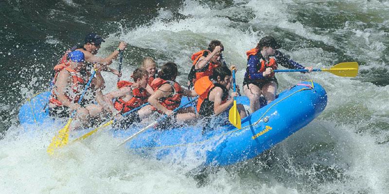 Seguros rafting